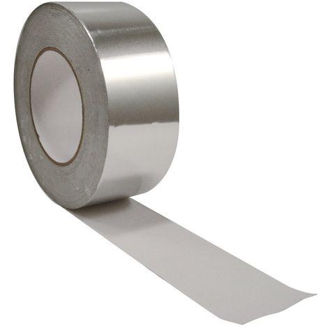 JONCOUX Ruban adhésif aluminium haute température Largeur 75 mm - Longueur 50 m