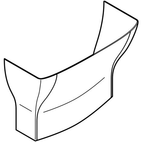 Jonction de plafond - Blanc