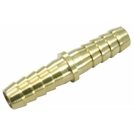 Jonction double d. 10mm laiton