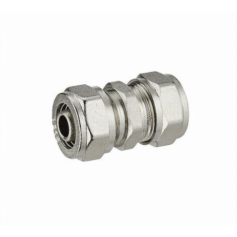 Jonction égale à compression pour tube multicouche NOYON & THIEBAULT - Ø 20 mm - 3920-20L1