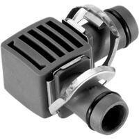 Jonction en l 13mm blister 2 pces connex«quick & easy»