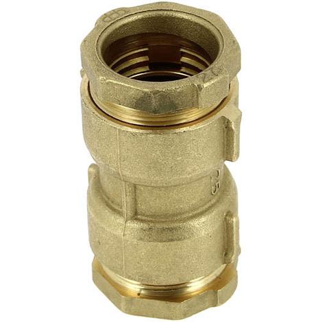 jonction laiton 233 gale s 233 rie fer a compression pour pe o27 9012 se12f 481