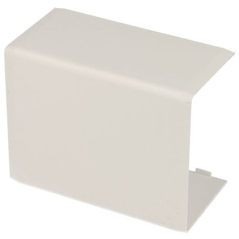 Jonction linéaire pour goulotte PVC blanc 60 x 40 mm KOPOS