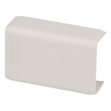 Jonction linéaire pour moulure PVC blanche 20 x 10 mm KOPOS