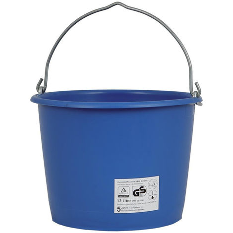 Jopa Baueimer 12 L, kranbar blau
