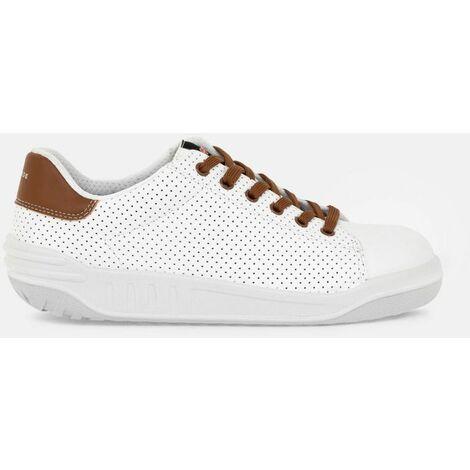 JOPPA 8825- Chaussures de sécurité niveau S1P - Mixte - taille : 42 - couleur : Cognac et Blanc - PARADE - Cognac et Blanc