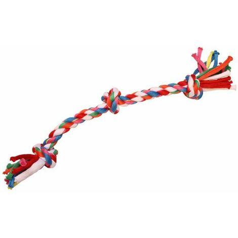 Jouet chiot corde 3 noeuds