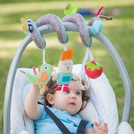 Jouet de voyage pour bébé spirale jardin Taf Toys