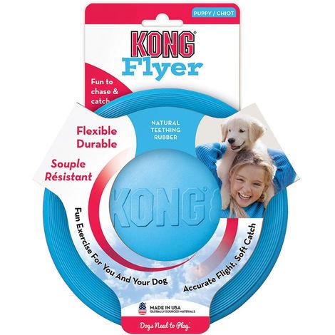 Jouet Kong Flyer Puppy - Disque volant - Frisbee spécial chiot Désignation : Kong Flyer Puppy | Taille : 18 cm Kong Company 750560