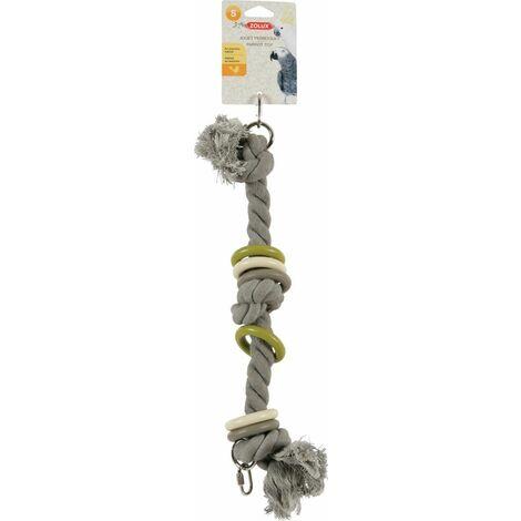 Jouet perroquet corde S