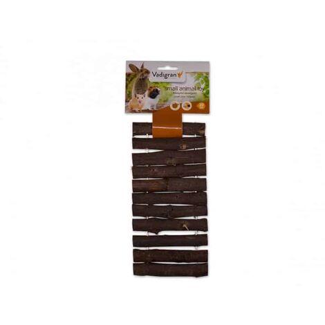 Jouet rongeur bois pont 20cm
