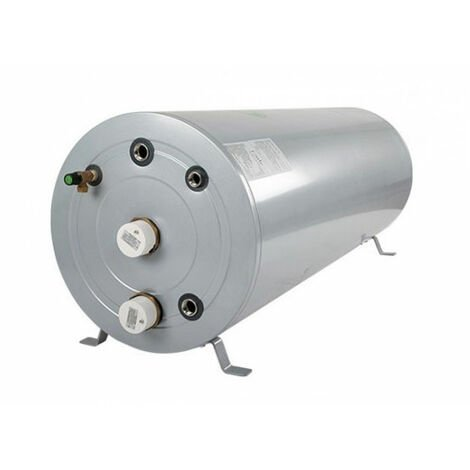 Joule Cyclone Stainless Steel Horizontal Indirect Unvented Cylinder 125 Litre