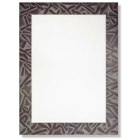 Joyce Rectangular Designer Mirror with Black Frame 600mm x 800mm