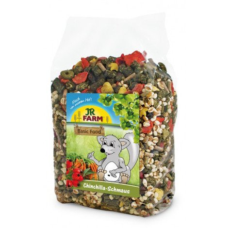 JR BASIC FOOD BANQUETE CHINCHILLAS 1,2 KG