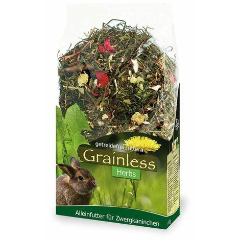 Jr grainless herbes pour lapin nain 400 g