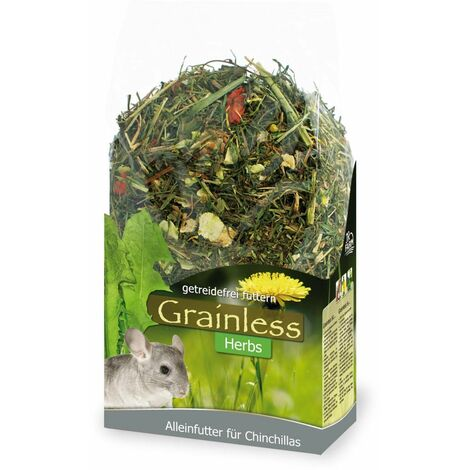 Jr grainless herbs chinchilla 400 g