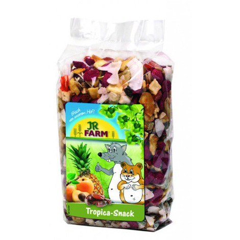 JR SNACKS ROED. SNACK TROPICAL ROEDORES 200 GR