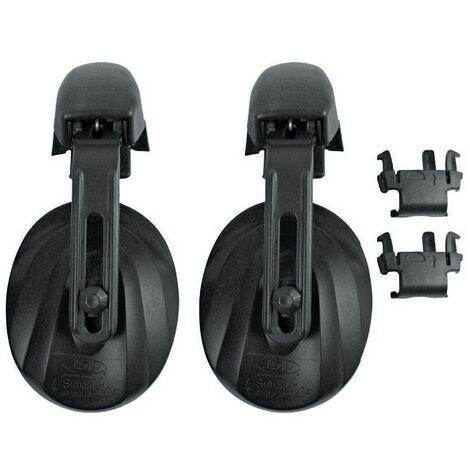 JSP AEJ030-001-100 Black Contour Ear Defenders
