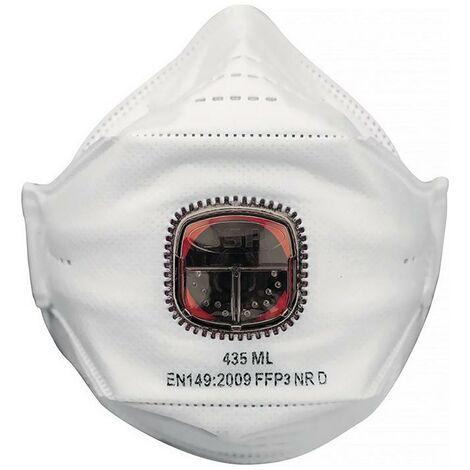 JSP Atemschutzmaske Atemschutzmaske Springfit™ 435 FFP3 / V NR mit Ausatemventil