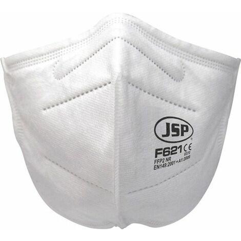 JSP Atemschutzmaske (FFP2 / ohne Ausatemventil, faltbar / Inhalt: 40 Stück) - BGV120-000-Q00