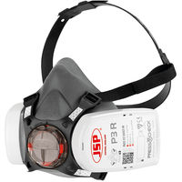 JSP Force 8 medium face size half-mask with PressToCheck P3 dust filters