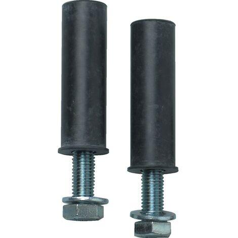 JSP HAJ000-000-000 Pair Nuts/Bolts Asphalt Speed Bump