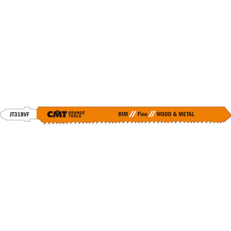 "9/""X3 TPI CMT Orange Tools JS1111K-5 5 Reciprocating Saw Blades for Wood Hcs"