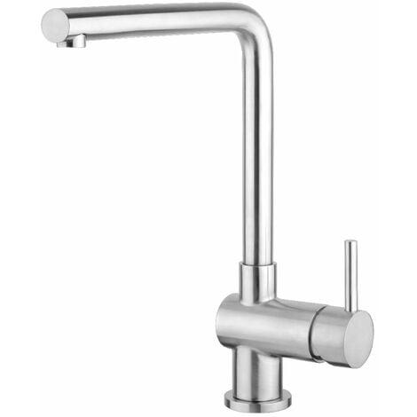 "main image of ""JTP Apco Mono Kitchen Sink Mixer Tap - Stainless Steel"""