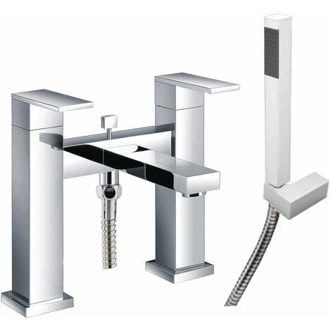 JTP Athena Bath Shower Mixer Tap Pillar Mounted - Chrome