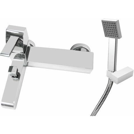JTP Carlo Bath Shower Mixer Tap Deck Mounted - Chrome