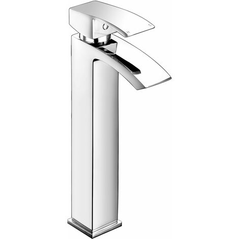 JTP Dash Tall Basin Mixer Tap with Click Clack Waste - Chrome