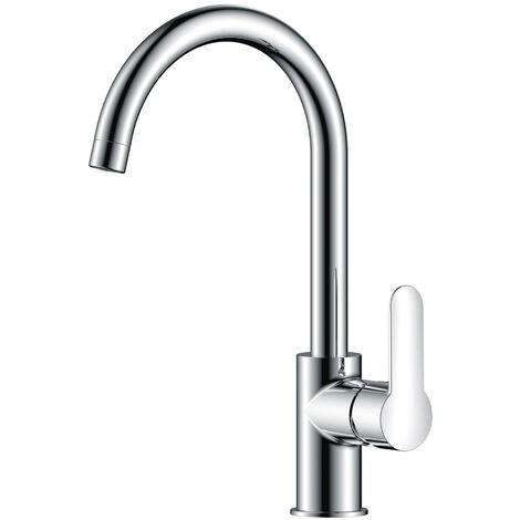 JTP Essence Kitchen Sink Mixer Tap Single Handle - Chrome