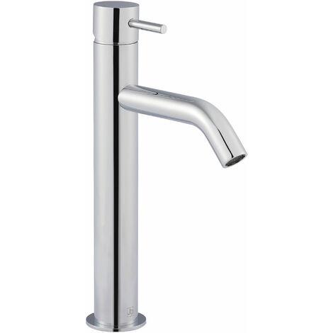JTP Florentine High Neck Mono Kitchen Sink Mixer Tap - Chrome