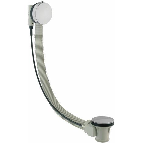 JTP Freeflow Bath Filler with Pop Up Waste, 600mm, Chrome