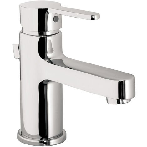 JTP Fusion Mono Basin Mixer Tap with Pop Up Waste - Chrome