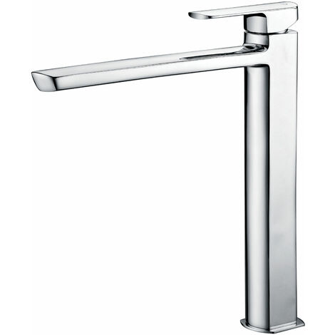JTP Mis Tall Basin Mixer Tap without Pop Up Waste - Chrome