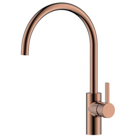 JTP Mono Kitchen Sink Mixer Tap - Rose Gold