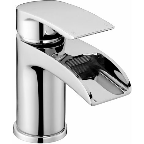 JTP Ravina Basin Mixer Tap with Click Clack Waste Single Handle - Chrome
