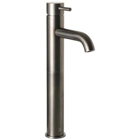 JTP Vos Tall Basin Mixer Tap - Brushed Black