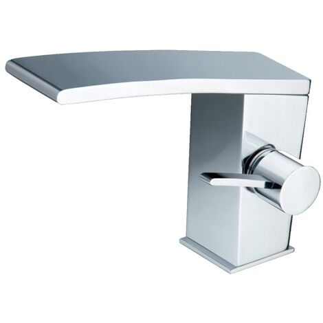 JTP Wings Basin Mixer Tap with Pop Up Waste Single Handle - Polished Chrome