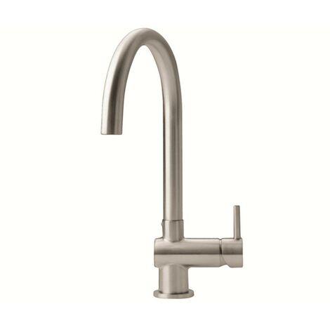 "main image of ""JTP Zeeca Mono Kitchen Sink Mixer Tap - Chrome"""