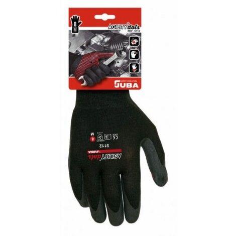Juba Guantes H5112 Nylon/Lycra Negro 10Xl