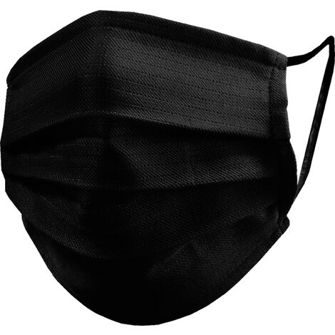 Juba Mascarilla reutilizable 50 lavados M150 Negra