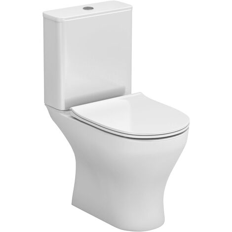 Jubilee Short Projection Close Coupled Toilet with Soft Close Seat