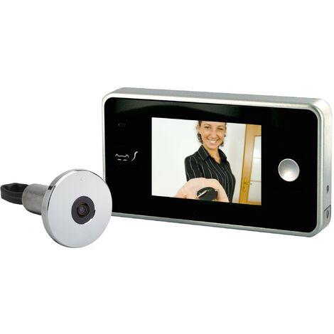 Judas video ecran couleurs LCD securite porte entree video surveillance digitale numerique