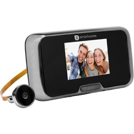 """Judas vidéo numérique VD27 avec écran 2,8"""", fonctionnement sur batterie et fonction d'enregistrement Y584561"""