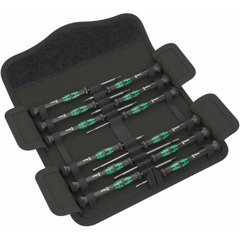 """main image of """"Juego 12 destornilladores electrónicos Kraftform Micro 12 Universal 1 Wera 073675"""""""