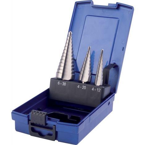 Juego broca escalonado HSS 4 -30,0mm PTG