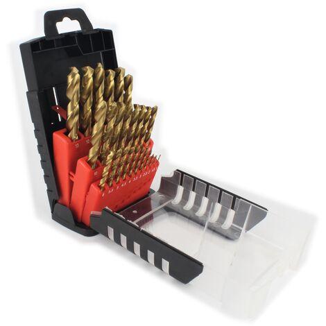 Juego Brocas Titanio, 25Un - MADER®   Power Tools