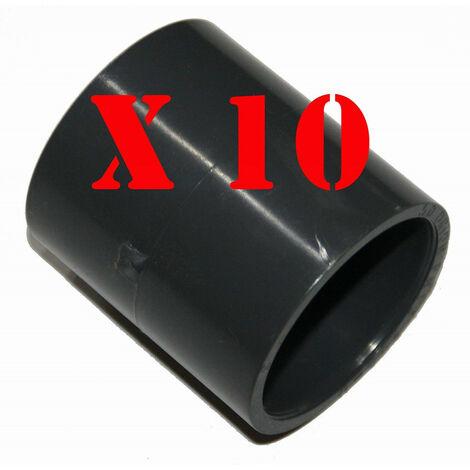 juego de 10 manguitos, ø 50 mm, PVC presión PN16